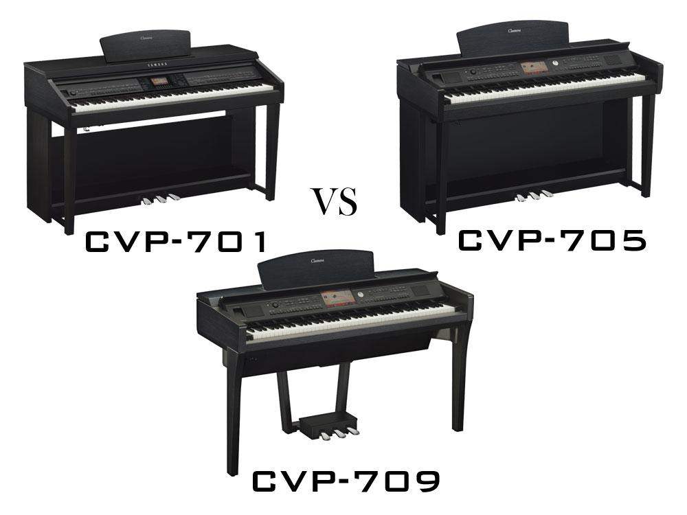 CVP-701 vs CVP-705 vs CVP-709
