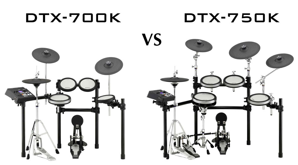 Pilih mana dtx700k vs dtx750k artech music for Yamaha dtx 700