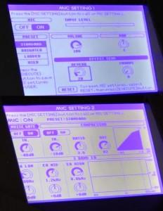 DGX-660 Mic Setting