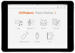 Apps Roland Piano Partner 2